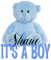 It's a Boy bear - Shane