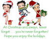 X-mas with Betty Boop