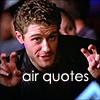 "Matthew Morrison - Glee ""Air Quotes"""