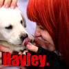 Hayley williams and a puppy