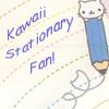 kawaii stationary fan