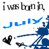 Born in July