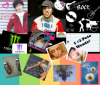 Collage of Pete Wentz