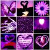 Purple Love Square
